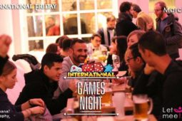 International Friday – GAMES NIGHT