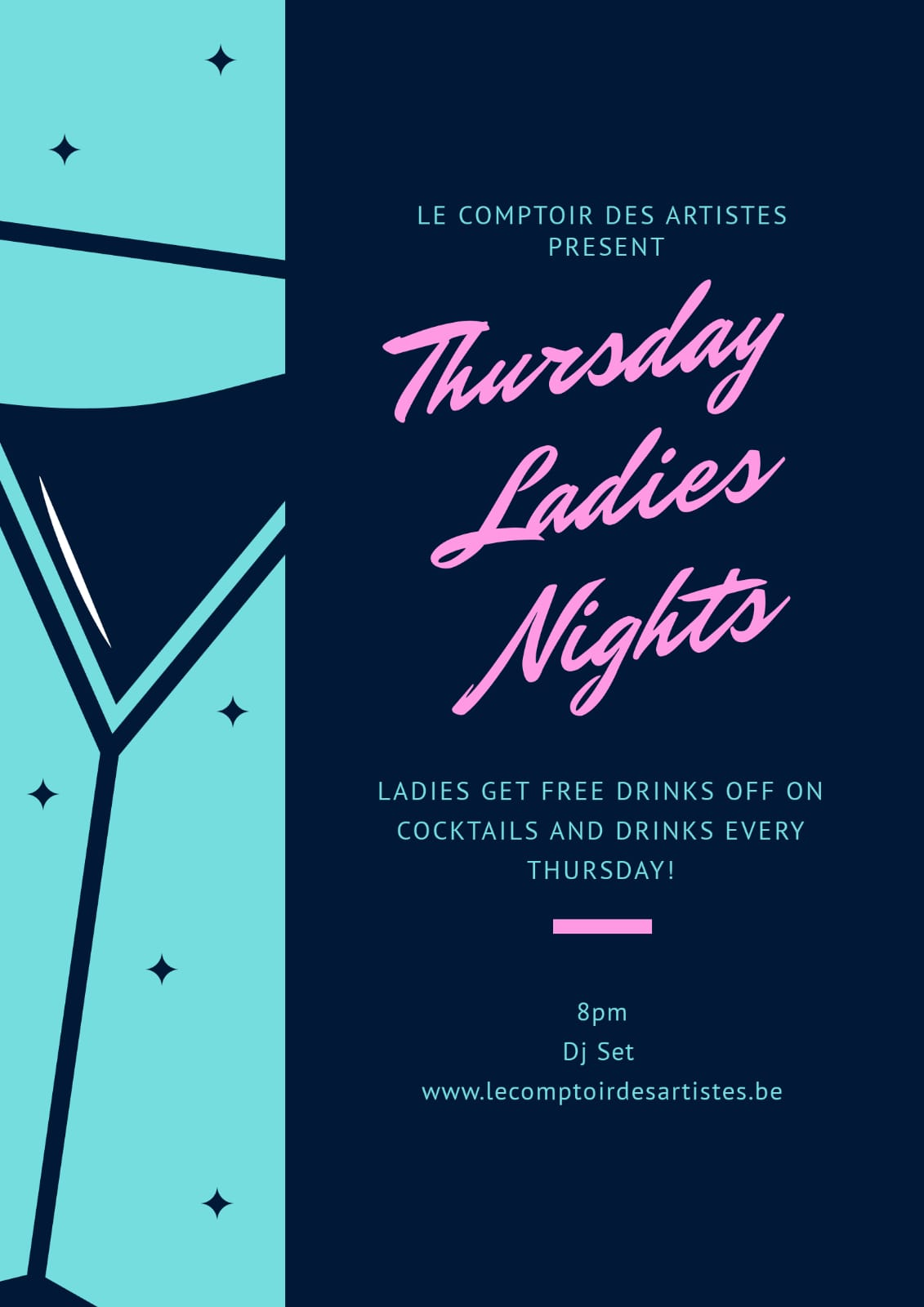 THURSDAY LADIES NIGHT